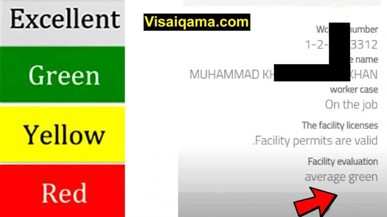 Iqama Expiry Check Red Green 2021