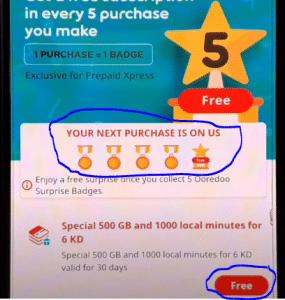 Use Free Internet On Ooredoo Sim