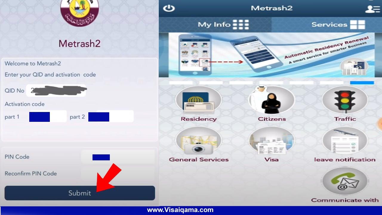 Register Metrash2 In Qatar