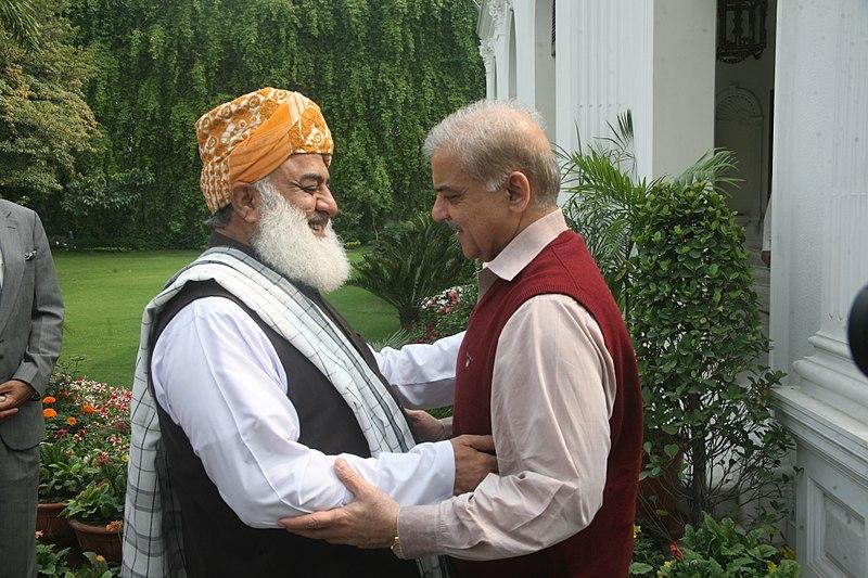 The inside story of Shahbaz Sharif's meeting with Maulana Fazlur Rehman came to light