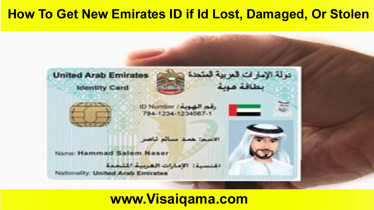 How To Get New Emirates ID if Id Lost, Damaged, Or Stolen